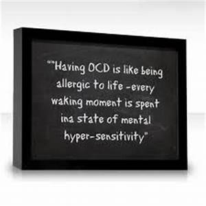 Funny Quotes Oc... Ocd And Anxiety Quotes