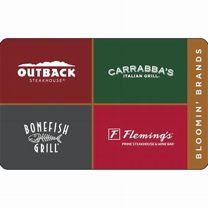 Brands Bloomin Gift Cards Restaurant Card Svm