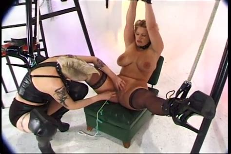 Beautiful Blonde Milf Is A Bdsm Sex Slave For Freaky Lady Mylust Com
