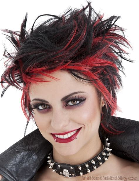 Punk Hairstyles For Women (Pictures) 2018