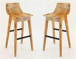 wooden bar stool 3D Model max - CGTrader com