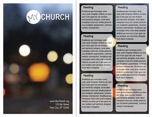 Church bulletin design templates josemulinohouseco for Church bulletin templates indesign
