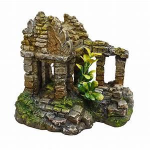 Aquarium Deko Steine : aquarium deko tempel ruine steine terrarium nager dekoration zubeh r ebay ~ Frokenaadalensverden.com Haus und Dekorationen