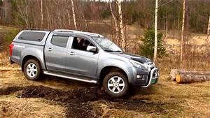 Isuzu D-max On A Muddy Logging Trail