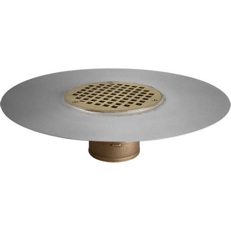 thunderbird copper deck drains stainless steel commercial thin membrane deck drain