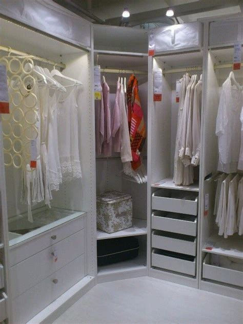 pax pa ikea decor pinterest corner closet dressing