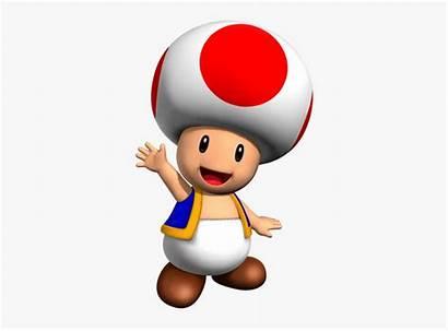 Toad Mario Bros Paper Clipart Transparent Character