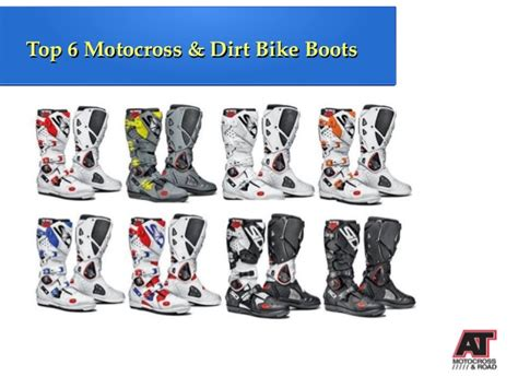 best street bike boots top 6 motocross dirt bike boots
