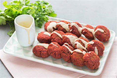 cuisine addict beetroot falafels cuisine addict