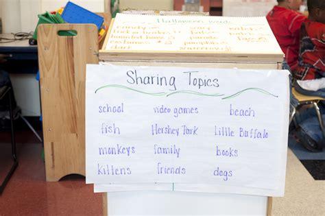 themed sharing  morning meeting responsive classroom