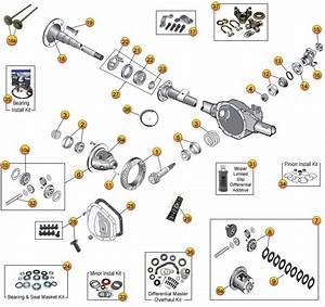Dana 35 Rear Axle Parts For Grand Cherokee Wj