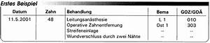 Bema Abrechnung : abrechnung nach bema und goz nachbehandlungen nach ~ Themetempest.com Abrechnung