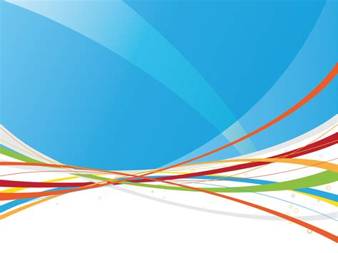 Power Point Backgrounds Rainbow Lines Backgrounds Abstract Colors Technology