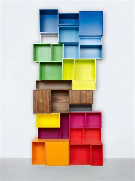 cubit shelving cubit the modular shelving system with the clever plug in system interior design ideas