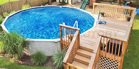 Above Ground Pool Decks Cost Amazing Uniquely Awesome