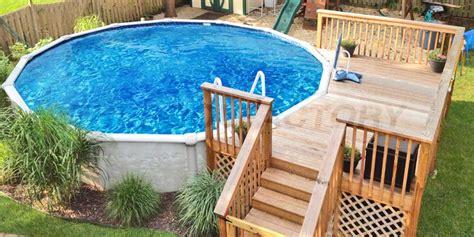 ground pool deck        home