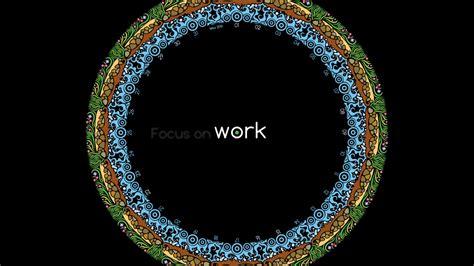 1366x768 Focus on work desktop PC and Mac wallpaper