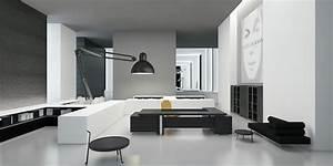 Modern, Office, Interior, 3d, Model, Max