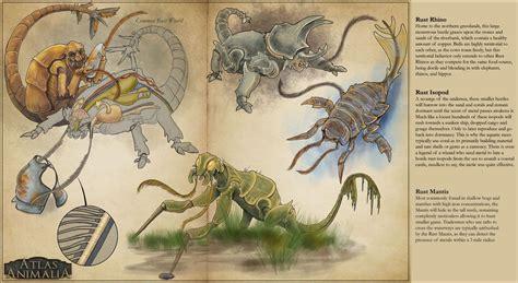 rust monster creature dnd variants plus comments