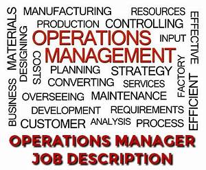 How To Negotiate Salary After Job Offer Operations Manager Job Description