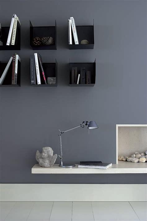 bureau gris anthracite inspiration de peintures murales d 39 intérieurs colorés