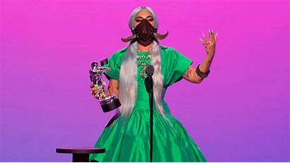 Gaga Lady Bts Mascarillas Sus Convierten Triunfadores