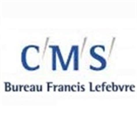 bureau lefebvre profil de la société cms bureau francis lefebvre