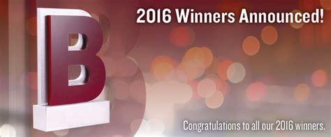 Winners Announced in Best in Biz Awards 2016