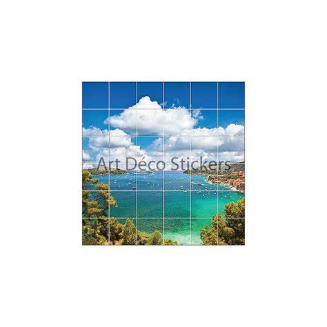 stickers carrelage mural faience d 233 co cuisine ou salle de bain ile r 233 f1901 stickers muraux deco