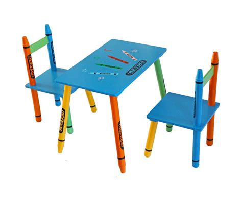Crayola Wooden Table And Chair Set by Crayola Desk And Chair Whitevan