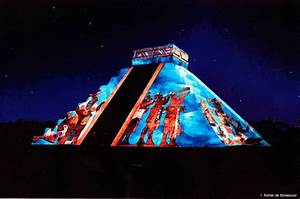 ToursCancun org® $1,360 MXN Tour Chichen Itza Luz y Sonido Noches de Kukulkan