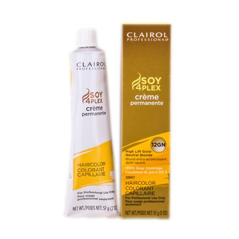 clairol professional creme permanente hair color neutral