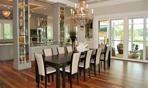 fulfill  space  long dining room tables home interiors