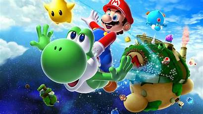 Mario Galaxy 4k Super Uhd Wallpapers Backgrounds