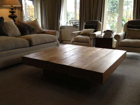 Large Square Coffee Table