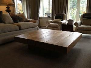large square coffee table With huge square coffee table