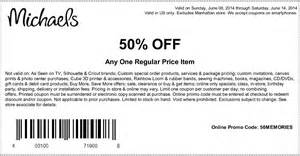 michaels craft store 50 off coupon gordmans coupon code