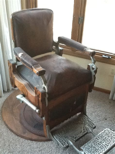 Koken Barber Chair Identification by Circa1910 10 Years Koken Barber Chair