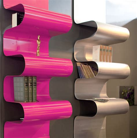 libreria alluminio libreria a parete in alluminio by vidame creation design