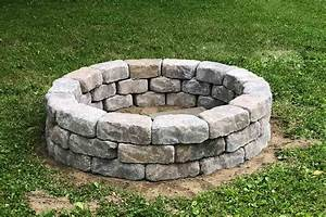Diy, Stone, Fire, Pit, For, Your, Backyard, Homestead