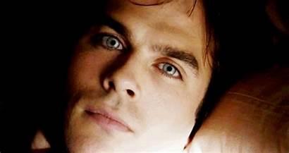 Damon Salvatore Caroline Vampire Diaries Eyes Tvd