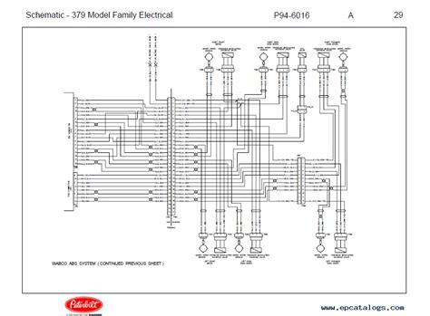 89 Peterbilt 379 Wiring Diagram peterbilt truck 379 model family schematic manual pdf