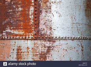 Old rusted metal background texture with rivets Stock ...