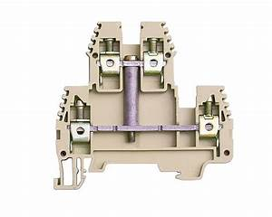 Double Deck Terminal Block  Erd4vbeige    Industrial