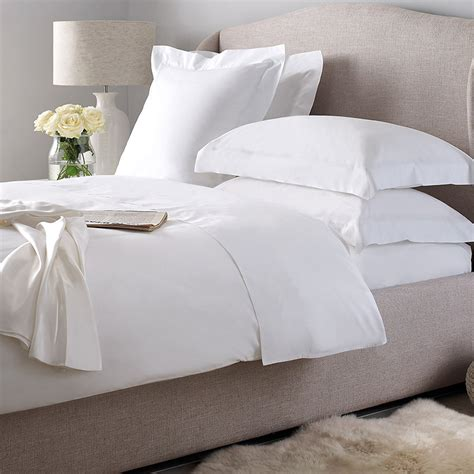 Cotton Satin Plain Bed Linen For Hotels, Hotel Luxury