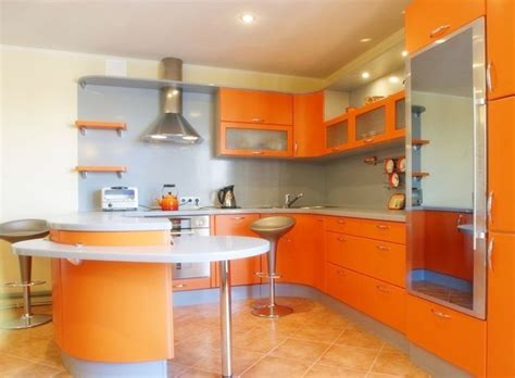 kitchen design orange orange kitchen decor gorgeous orange kitchen decor ideas 1294
