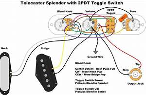 Jazz Bass Wiring With Blend Control And Series  Parallel