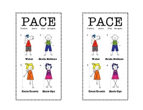 brain gym exercises for preschoolers brain pace bookmark time brain 256