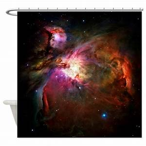 Orion Nebula (High Res) Shower Curtain by iloveyou1