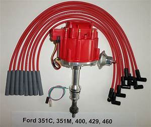 Big Block Ford 351c 351m 400 429 460 Red Hei Distributor